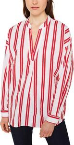 Bluzka Esprit z bawełny z długim rękawem z okrągłym dekoltem