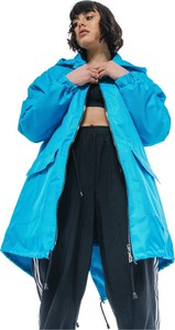 Niebieska kurtka REST FACTORY w stylu casual