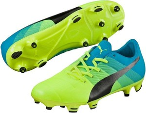 Zielone buty sportowe dziecięce Puma