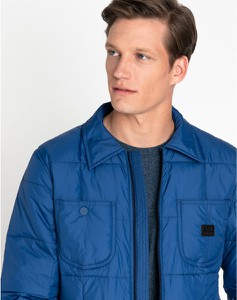 Niebieska kurtka Lee w stylu casual