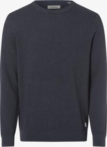 Granatowy sweter Jack & Jones w stylu casual