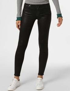 Czarne jeansy 7 for all mankind w stylu casual