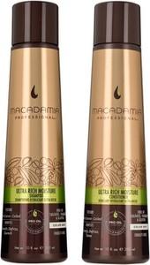 Macadamia Ultra Rich Moisture Zestaw nawilżający do włosów grubych | Szampon 300ml + Odżywka 300ml - Wysyłka w 24H!