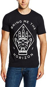 Czarny t-shirt bring me the horizon