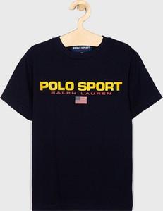 Koszulka dziecięca POLO RALPH LAUREN z krótkim rękawem z dzianiny