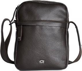 Czarna torba DAAG ze skóry