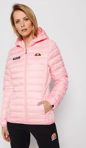 Różowa kurtka Ellesse w sportowym stylu