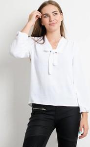 Bluzka Olika z dekoltem w kształcie litery v
