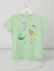 Koszulka dziecięca Review For Kids z bawełny z krótkim rękawem