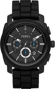Zegarek FOSSIL - Machine FS4487 Black/Black