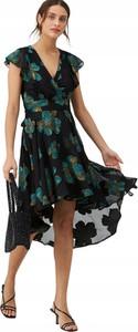 Sukienka V by Very z krótkim rękawem z dekoltem w kształcie litery v midi