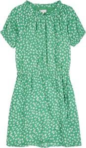 Zielona sukienka dziewczęca Tommy Hilfiger