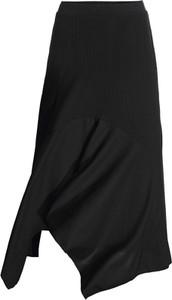 Czarna spódnica bonprix RAINBOW midi