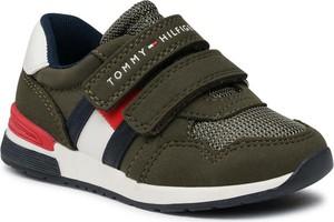 Buty sportowe dziecięce Tommy Hilfiger na rzepy dla chłopców