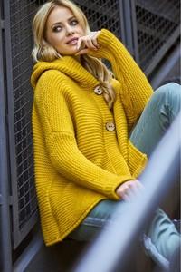 ae702b3e9ac2 gruby sweter z kapturem - stylowo i modnie z Allani