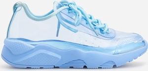 Niebieskie buty sportowe dziecięce Reserved sznurowane