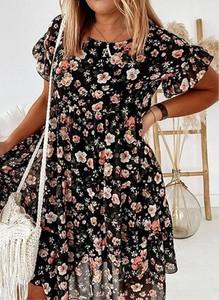 Sukienka Arilook mini w stylu boho