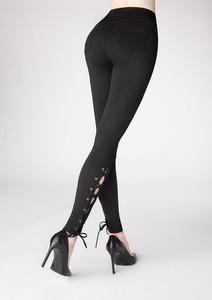 Czarne legginsy POUPEE