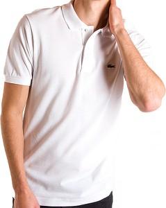 Koszulka polo Lacoste z bawełny