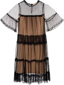 Brązowa sukienka Twinset