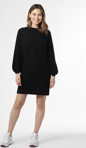 Czarna sukienka Drykorn z kaszmiru mini z golfem