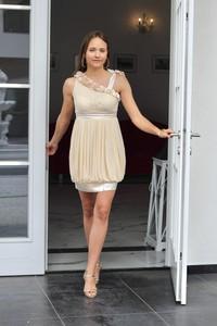 Sukienka Rokado mini z bawełny bez rękawów