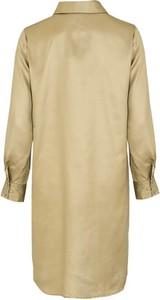 Koszula Soyaconcept z tkaniny z długim rękawem z kołnierzykiem