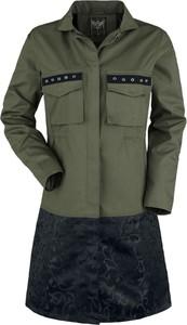 Kurtka Black Premium By Emp z bawełny długa w stylu casual