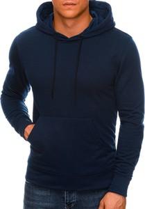 Granatowa bluza Edoti w młodzieżowym stylu