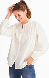 Bluzka YESSICA z okrągłym dekoltem z długim rękawem