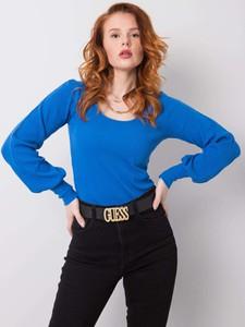 Niebieska bluzka Sheandher.pl w stylu casual