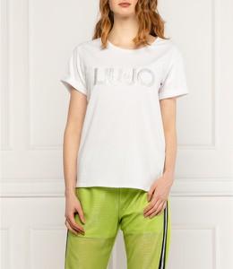 T-shirt Liu-Jo z krótkim rękawem w młodzieżowym stylu