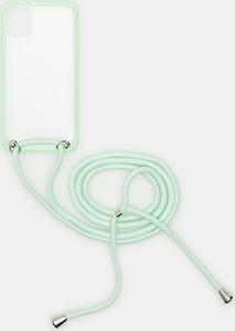 Sinsay - Etui iPhone 11 - Turkusowy