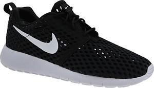 cheaper 364ae 38b90 Damskie. Czarne buty sportowe Nike roshe z tkaniny sznurowane