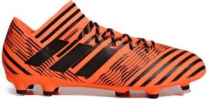 Brązowe buty sportowe Adidas sznurowane