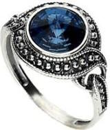Polcarat Design Srebrny pierścionek z kryształem Swarovskiego PK 1897