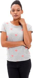 T-shirt Gate z krótkim rękawem z okrągłym dekoltem