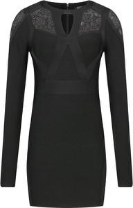 Czarna sukienka Marciano w stylu casual mini dopasowana