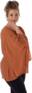 Brązowa bluzka Zizzi
