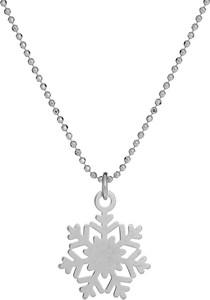 Ania Kruk Naszyjnik MINI srebrny ze śnieżką