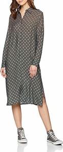 Sukienka amazon.de midi z długim rękawem