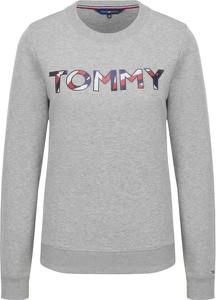 Bluza Tommy Hilfiger w street stylu z dzianiny krótka