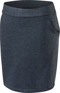 Niebieska spódnica Rennwear midi z dresówki
