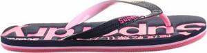 Granatowe buty letnie męskie Superdry