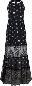 Sukienka Liu-Jo z jedwabiu maxi bez rękawów
