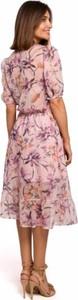 Różowa sukienka Style