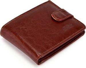 Czerwony portfel męski Elkor