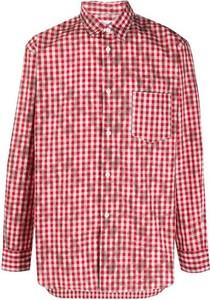 Czerwony sweter Comme Des Garçons w stylu casual