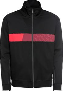 Czarna kurtka Hugo Boss z bawełny