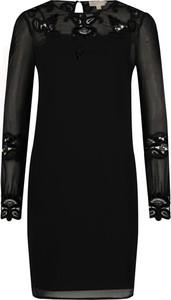 Sukienka Michael Kors z długim rękawem z okrągłym dekoltem